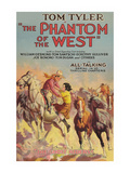 The Phantom of the West - Ghost Riders Posters