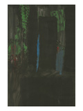 Homage to Rothko - Blue and Green on Black Posters by  SP