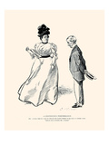 A Continuous Performance Prints by Charles Dana Gibson