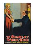 A Scarlet Week - End Poster