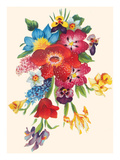 Fancy Flower Arrangement Print
