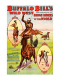 Buffalo Bill Wild West with Russian Cossack Riders Prints