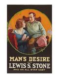 Man's Desire Prints