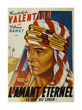 "Son of the Sheik ""L'Amant Eternel"" Posters"