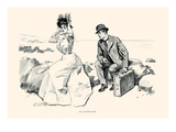 His Vacation Over Posters by Charles Dana Gibson