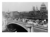 London&#39;s Black Friar&#39;s Bridge Prints