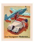 Les Voyageurs Modernes Posters