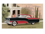 Packard Clipper at the Camelback Inn Print