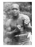 Jack Johnson, Heavyweight Champion of the World Reproduction giclée Premium