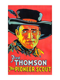The Pioneer Scout Print