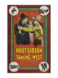Taming the West Poster