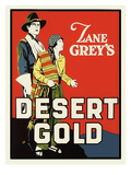 Desert Gold Prints by Zane Grey