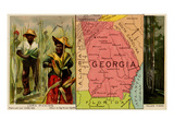 Georgia Poster by  Arbuckle Brothers