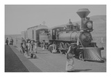 Mexican Central Railway Train at Station, Mexico Print by  Jackson