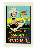 Gooseland or Goosland Prints by Mack Sennett