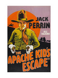 The Apache Kid's Escape Premium Giclee Print