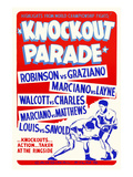 Knockout Parade Poster