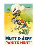Mutt and Jeff - White Meat Prints