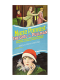Girl in the Pullman Posters