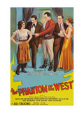The Phantom of the West - League of the Lawless Posters