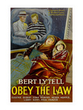Obey the Law Prints
