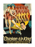 Chicken a La King Premium Giclee Print