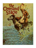 The Overland Stage Poster