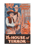 Perilous Trails - House of Terror Poster