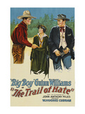 The Trail of Hate Posters