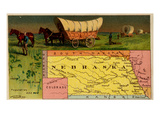 Nebraska Print by  Arbuckle Brothers