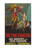 The Firefighters; Fighting Fate Prints