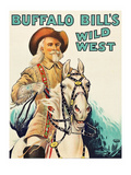 Buffalo Bill Wild West Premium Giclee Print