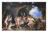 Feast of Achelous Print by Peter Paul Rubens