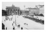 Pariser Platz and Brandenburger Thor (Paris Place and Brandenburg Gate) Obrazy
