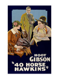 40 Horse Hawkins Posters