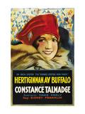 "Duchess of Buffalo ""Hertiginnan Av Buffalo"" Prints"