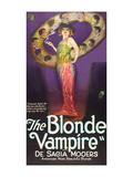 The Blonde Vampire Posters