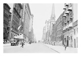 Street View 57th and 6th Avenue Looking West Prints