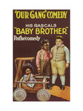 Our Gang - Baby Brother - Little Rascals Poster af Pathecomedy