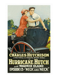 Hurricane Hutch - Neck and Neck Posters