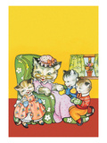 Kittens in Mittens Poster