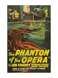 The Phantom of the Opera Planscher