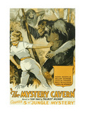 Jungle Mystery - the Mystery Cavern Prints