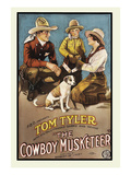 The Cowboy Musketeer Posters