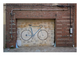 Bicycle Door Posters by Jason Pierce