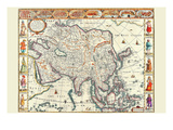 Asia Print by John Speed