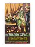 The Shadow of the Eagle - Telephone Cipher Posters