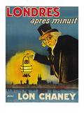 "London after Midnight ""Londres Apres Monuit"" Poster"