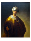The Noble Slav, Man in an Oriental Costume Prints by  Rembrandt van Rijn