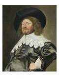 Portrait of a Man, Possibly Nicolaes Pietersz Duyst Van Voorhout (Born About 1600, Died 1650) Poster von Frans Hals